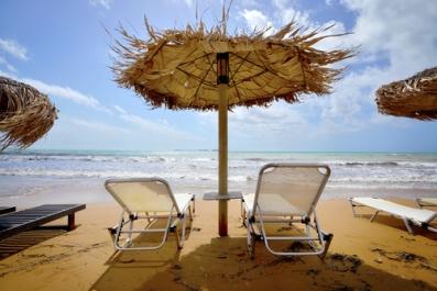 Xi beach, Kefalonia, Greece